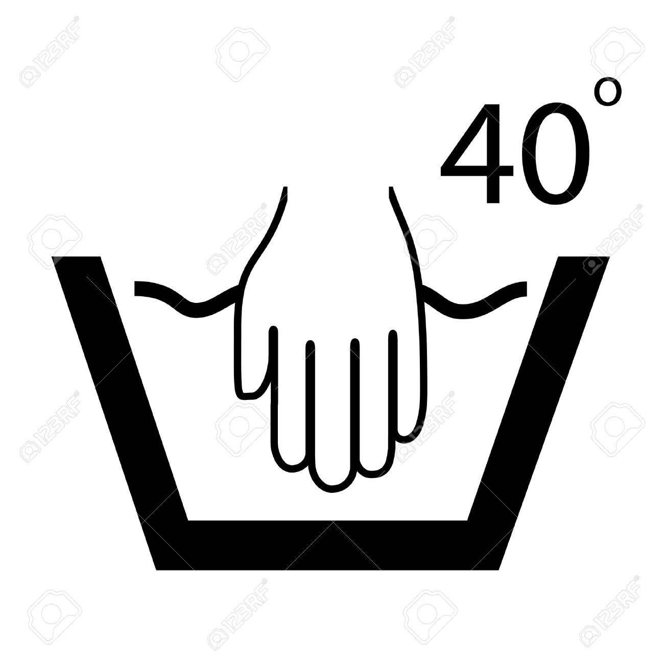 Hand wash symbol royalty free cliparts vectors and stock hand wash symbol stock vector 21936808 buycottarizona Image collections