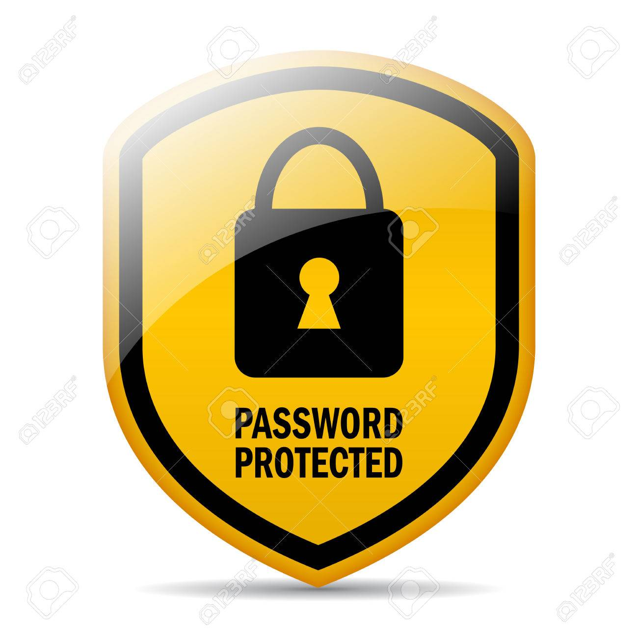 Password Protected Royalty Free Cliparts, Vectors, And Stock ...