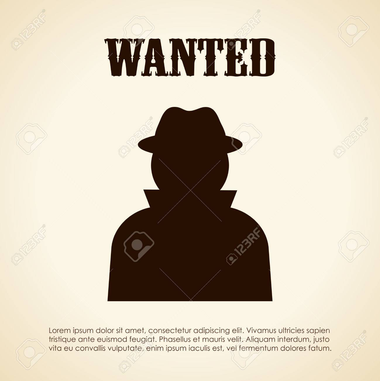 Wanted Person Royalty Free Cliparts, Vectors, And Stock Illustration ...
