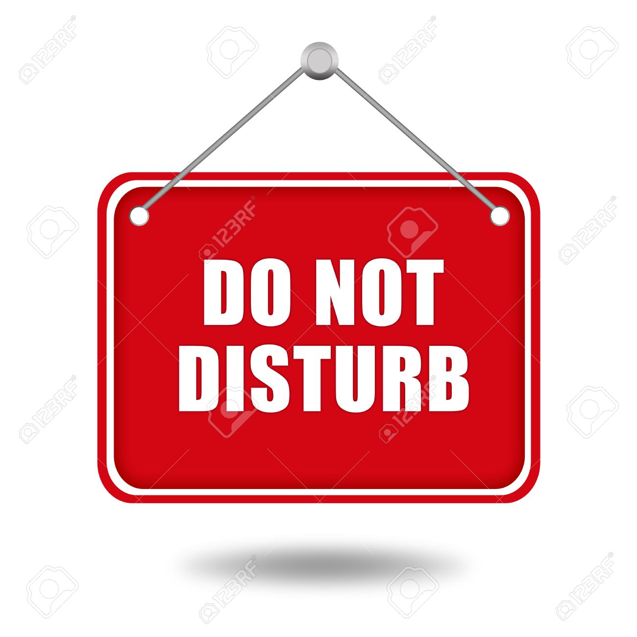 2 033 do not disturb sign stock illustrations cliparts and royalty