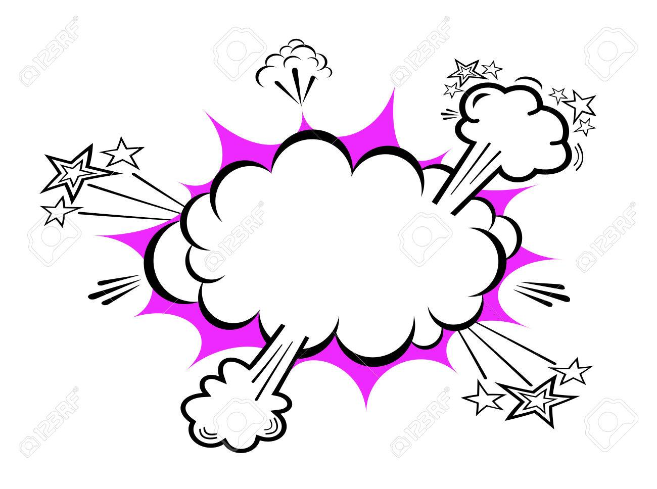 Comic boom explosion Stock Vector - 27704543