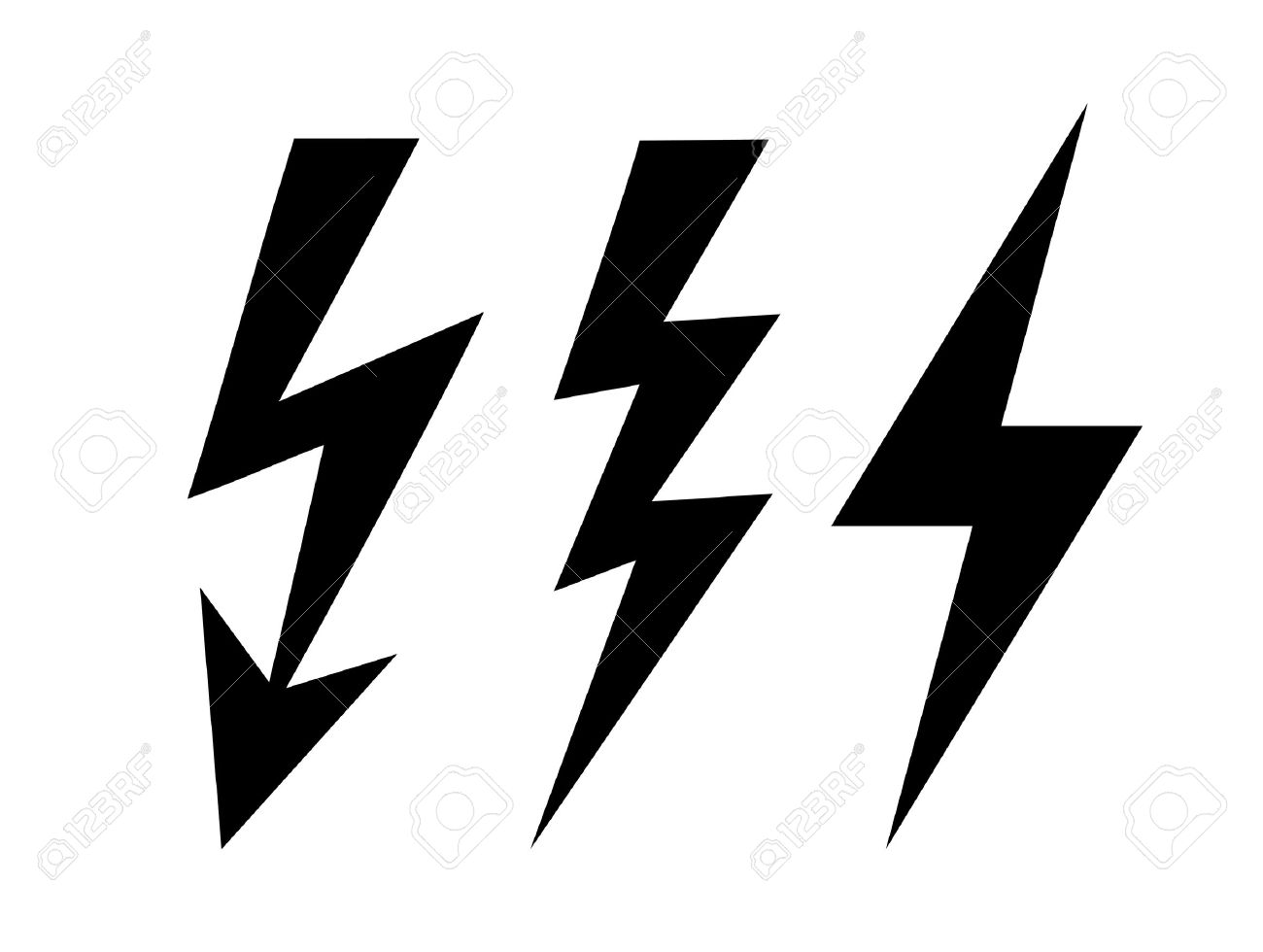 bolt icon royalty free cliparts vectors and stock illustration rh 123rf com stockton lightning vector vector lightning free