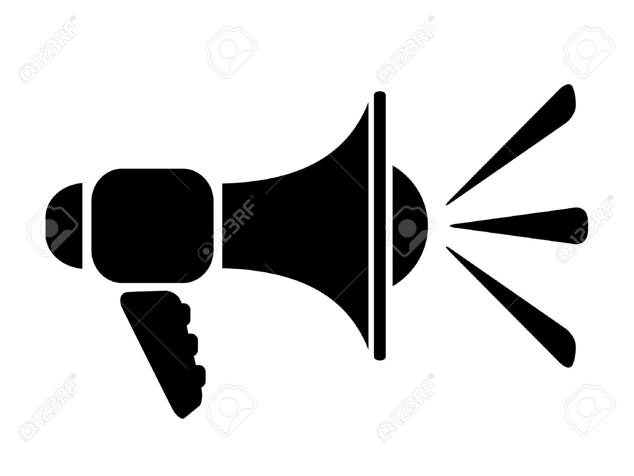 loudspeaker icon royalty free cliparts vectors and stock illustration image 28415985 loudspeaker icon