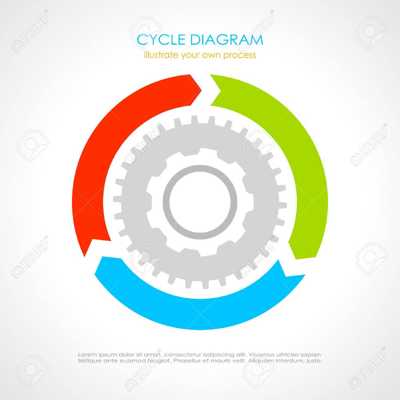 Process cycling arrow by arrow royalty free stock images image - Cycle Diagram Stock Vector 30494387 Cycle Diagram Arrow Process