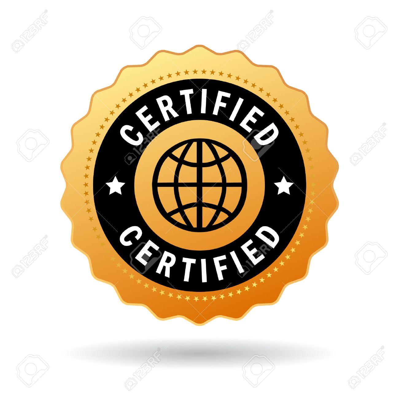 Certified seal royalty free cliparts vectors and stock certified seal stock vector 32561206 xflitez Gallery