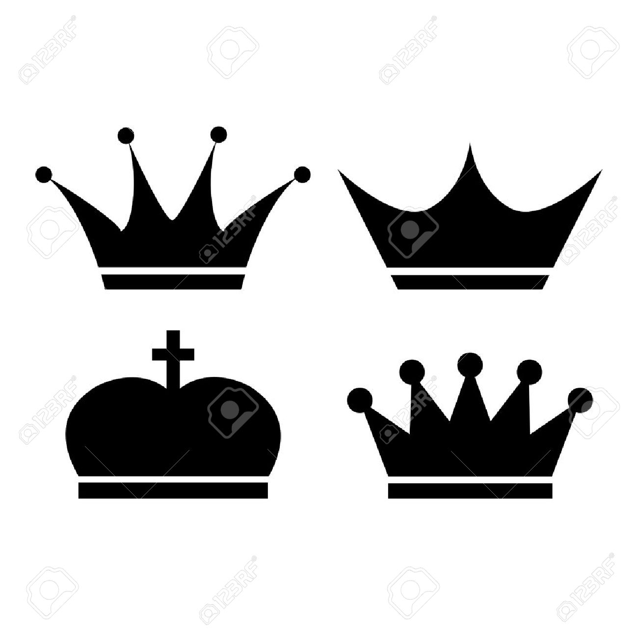 crown vector icon royalty free cliparts vectors and stock rh 123rf com crown vector clipart crown vector file