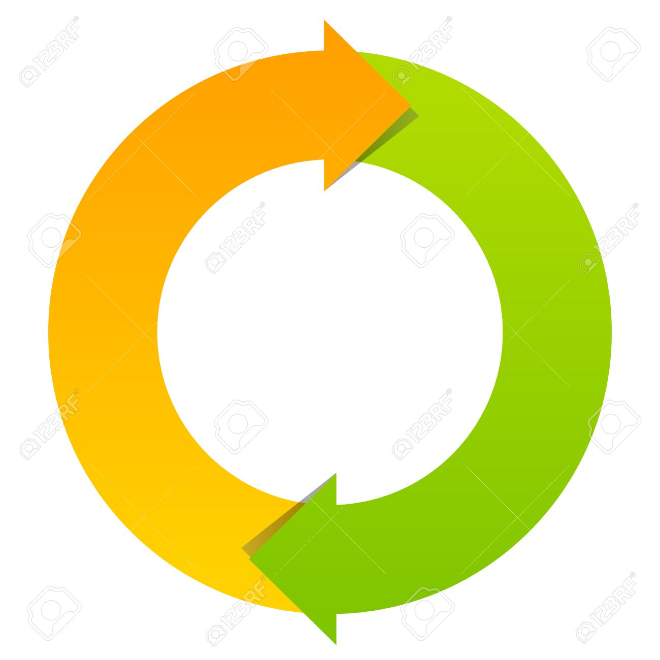 two part cycle diagram royalty free cliparts vectors and stock  : cycle diagram - findchart.co