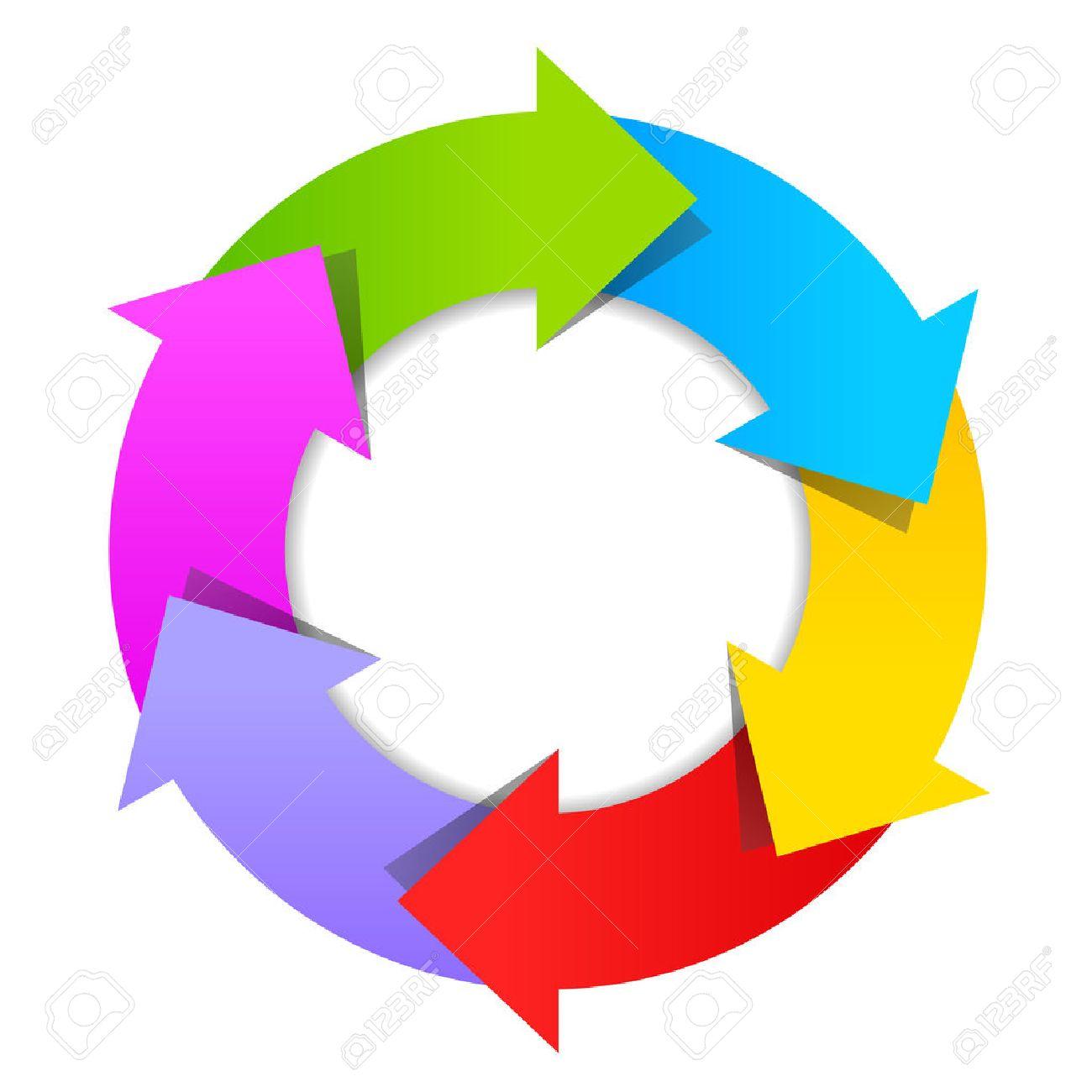6 part arrow wheel diagram royalty free cliparts vectors and stock 6 part arrow wheel diagram stock vector 43262588 ccuart Choice Image