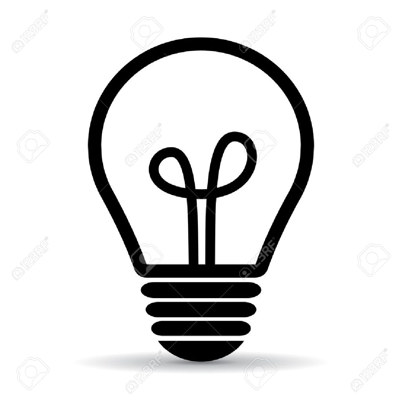 light bulb vector icon royalty free cliparts vectors and stock rh 123rf com light bulb vector drawing light bulb vector