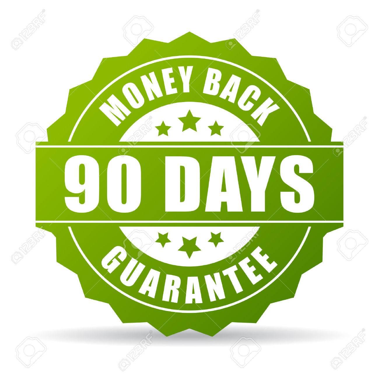 90 days money back green icon - 50664382