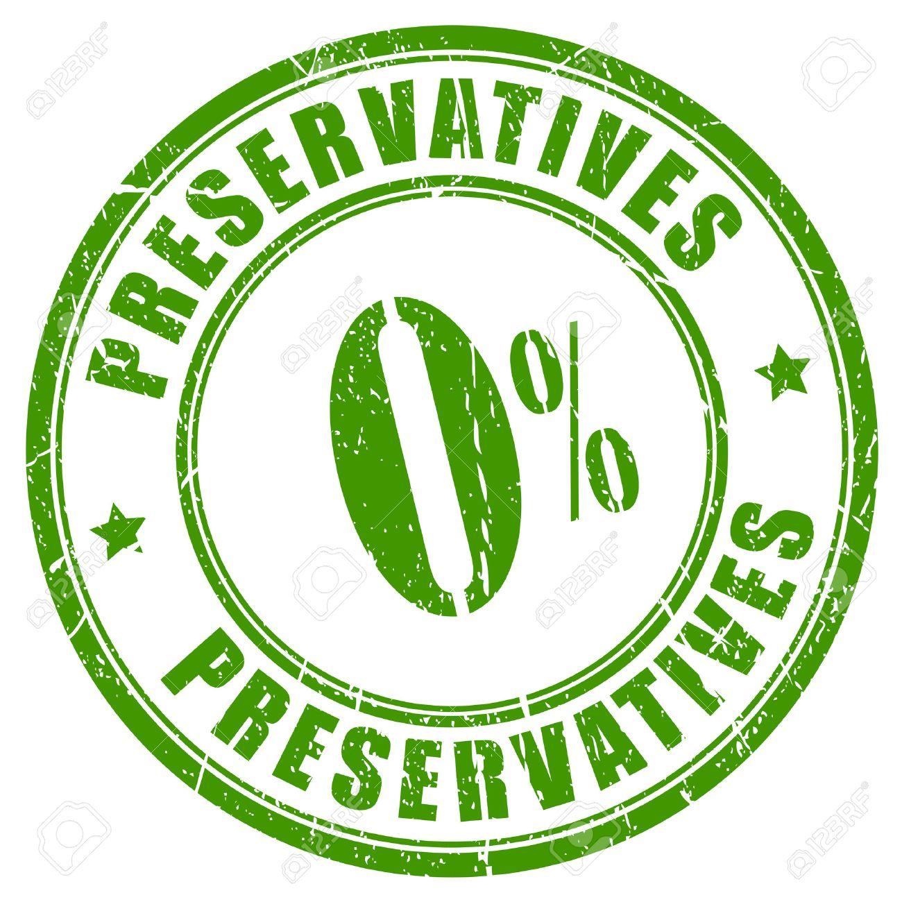 No preservatives rubber stamp - 50645166