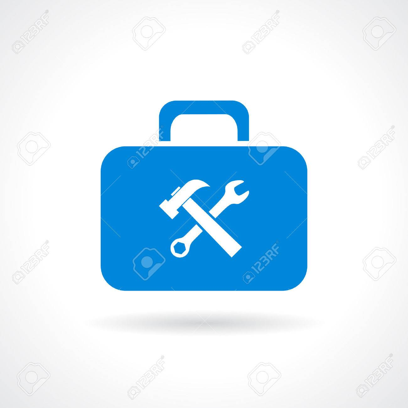 Tools chest icon - 53258118