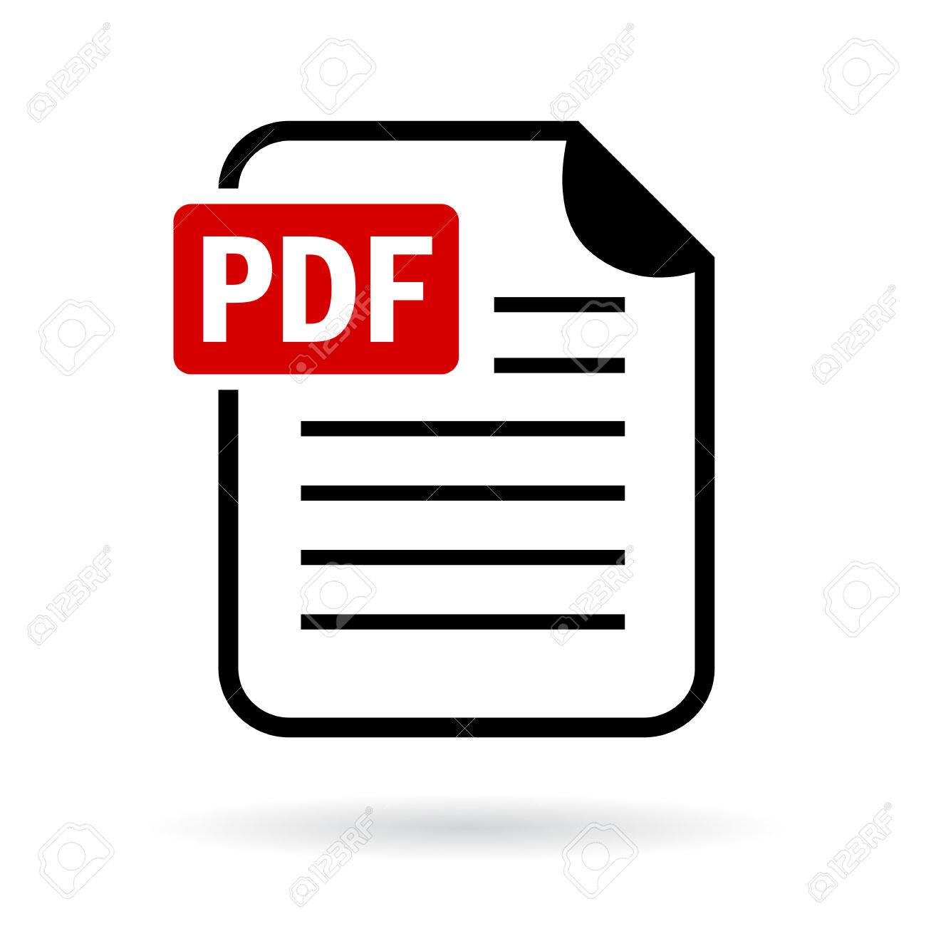 pdf file icon royalty free cliparts vectors and stock illustration