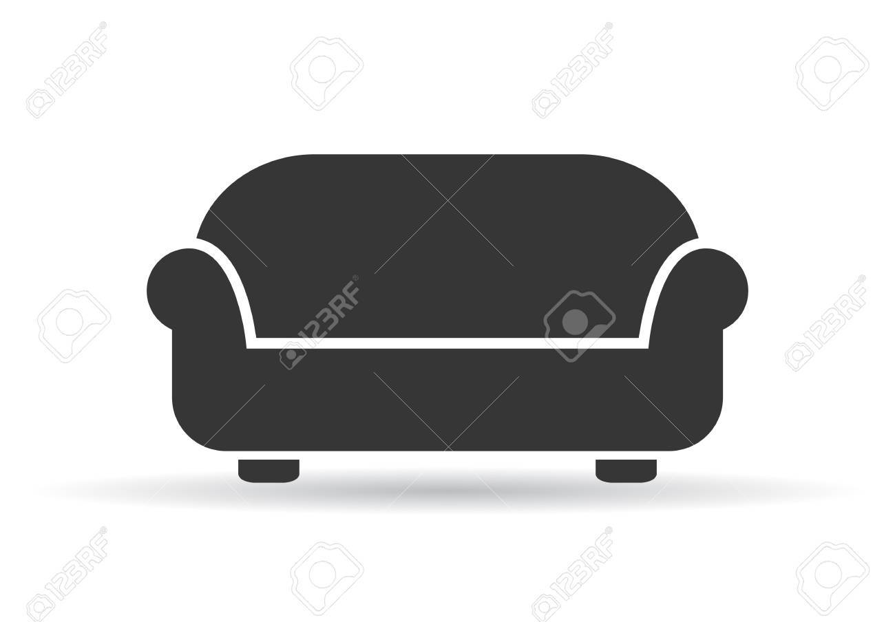 Sofa Vector Illustration Royalty Free Cliparts Vectors And Stock