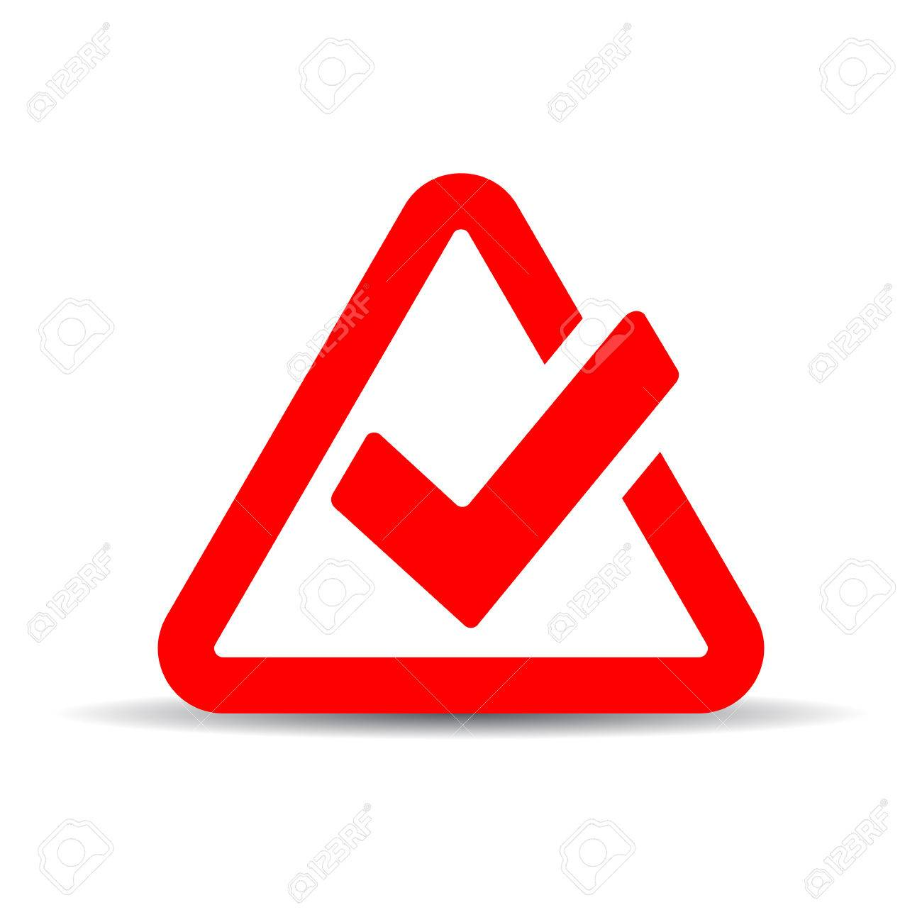 Red Tick Mark Symbol Royalty Free Cliparts Vectors And Stock