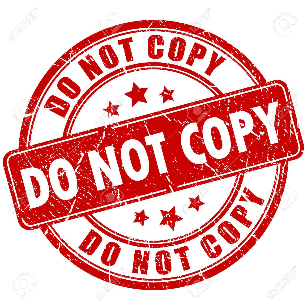 Caution Cliparts Copy And Stamp Do Not Free Royalty Rubber Image 63065180 Stock Illustration Vectors