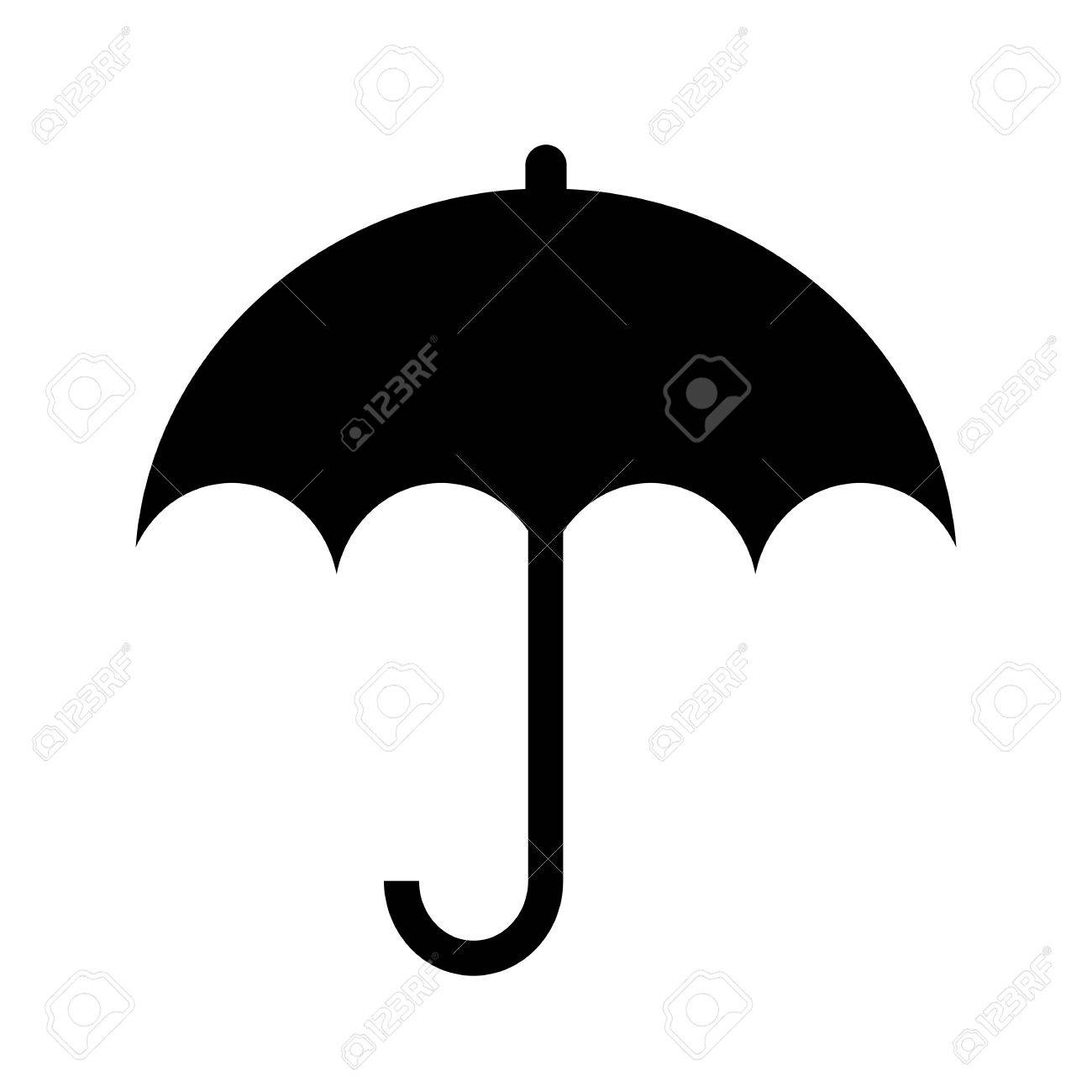 5e51d11334d0a Umbrella Silhouette Icon Royalty Free Cliparts, Vectors, And Stock ...