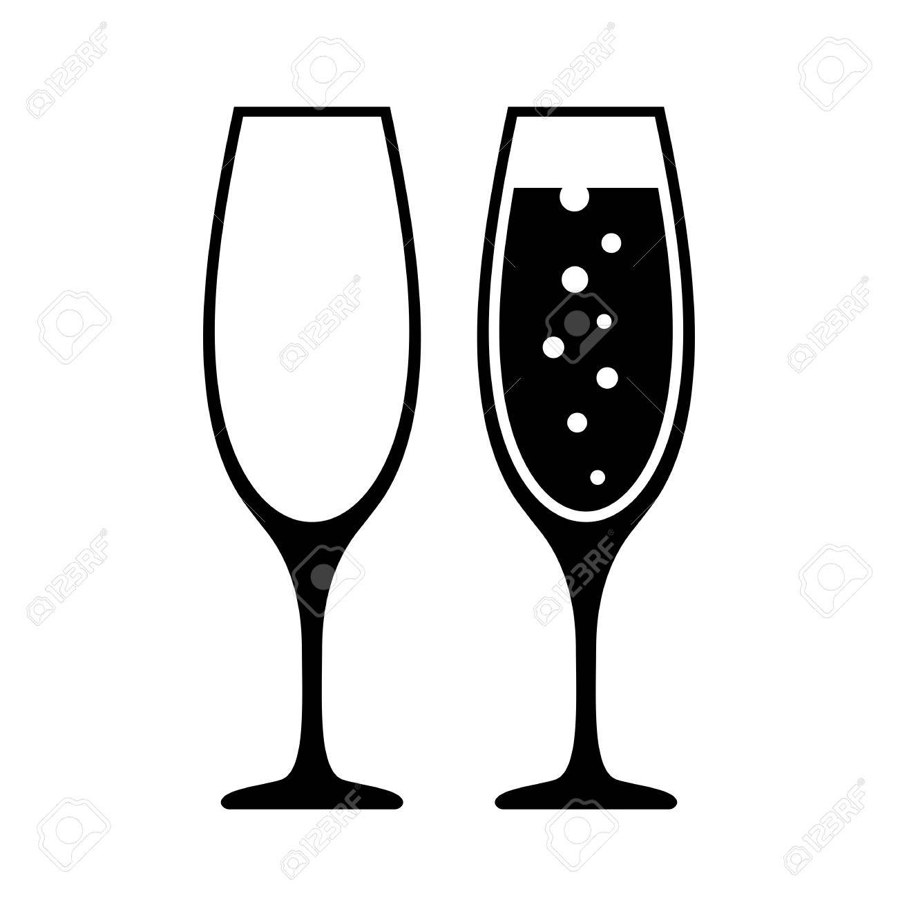 champagne glass icon royalty free cliparts vectors and stock rh 123rf com grass vector free glass victorian dolls