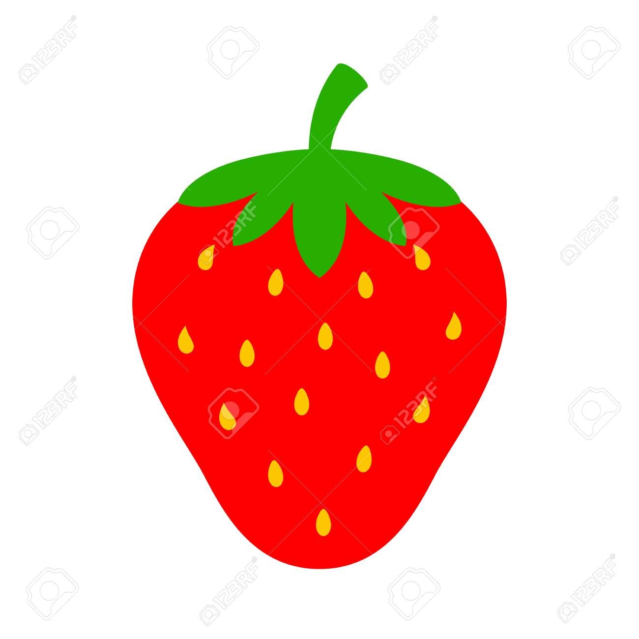 strawberry vector icon royalty free cliparts vectors and stock rh 123rf com strawberry vector free download strawberry vector freepik