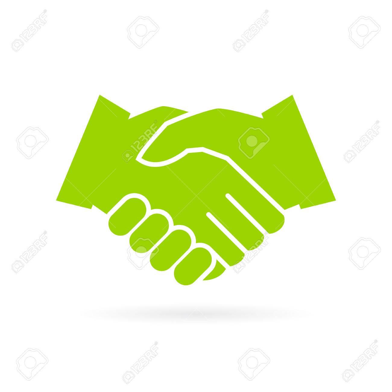 Hand shake vector icon - 69149880
