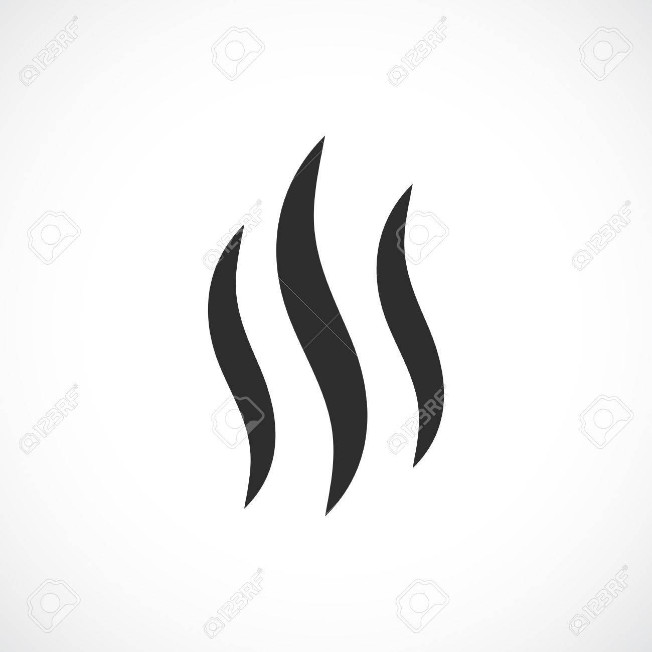 smoke hot vector icon royalty free cliparts vectors and stock rh 123rf com vector smoke cloud vector smoke hollow grill parts