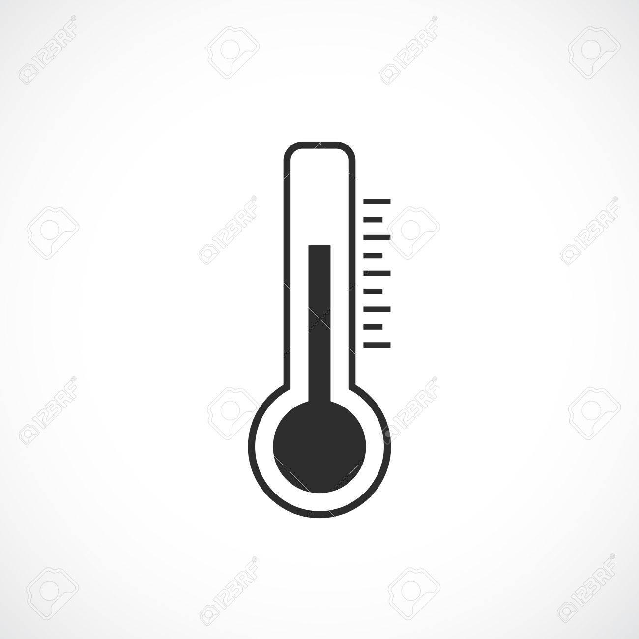 Thermometer Vector Pictogram Royalty Free Cliparts Vectors And Stock Illustration Image 73972534 Higrometro termometro digital medicion humedad y temperatura. thermometer vector pictogram