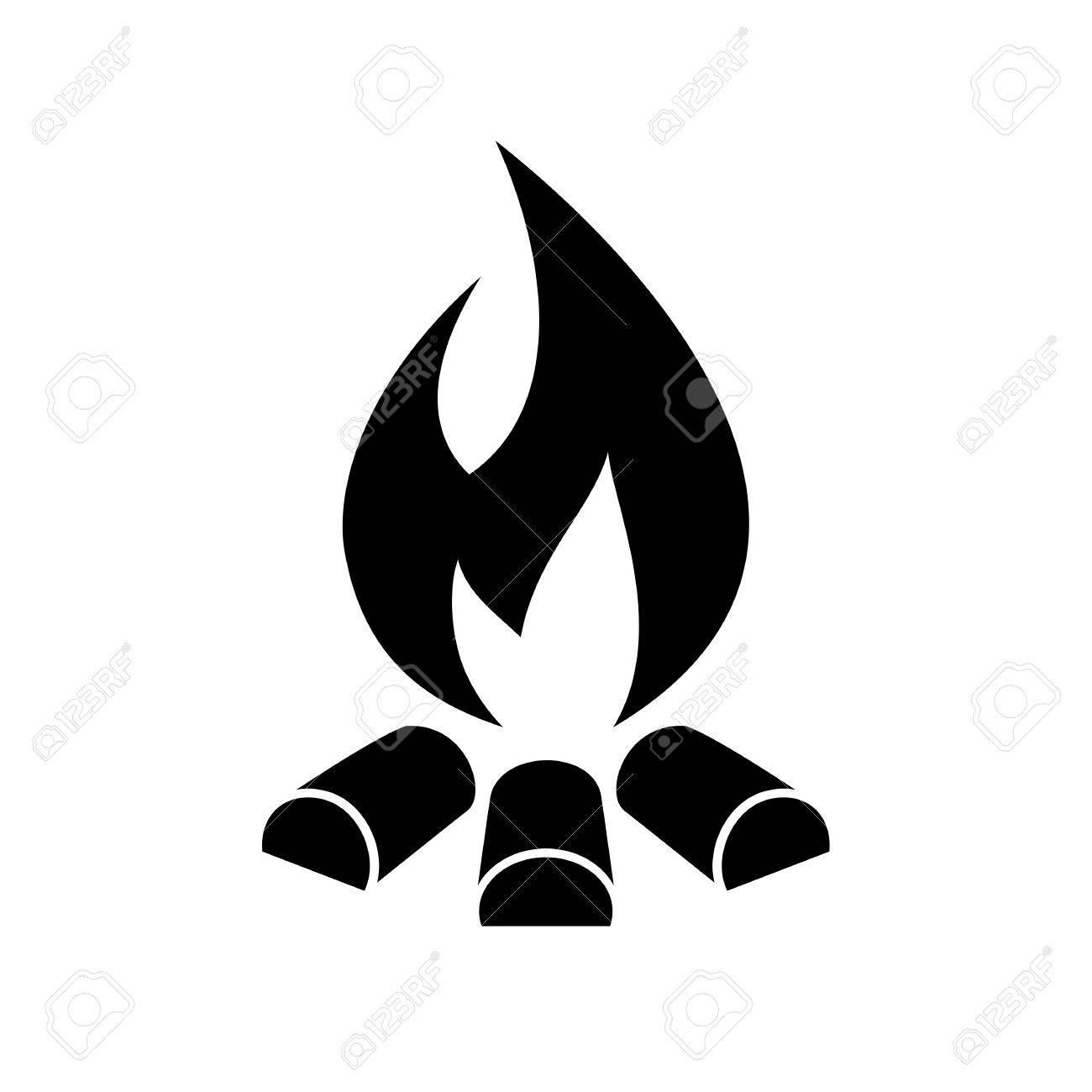 campfire vector icon royalty free cliparts vectors and stock rh 123rf com campfire vector art campfire vector clipart