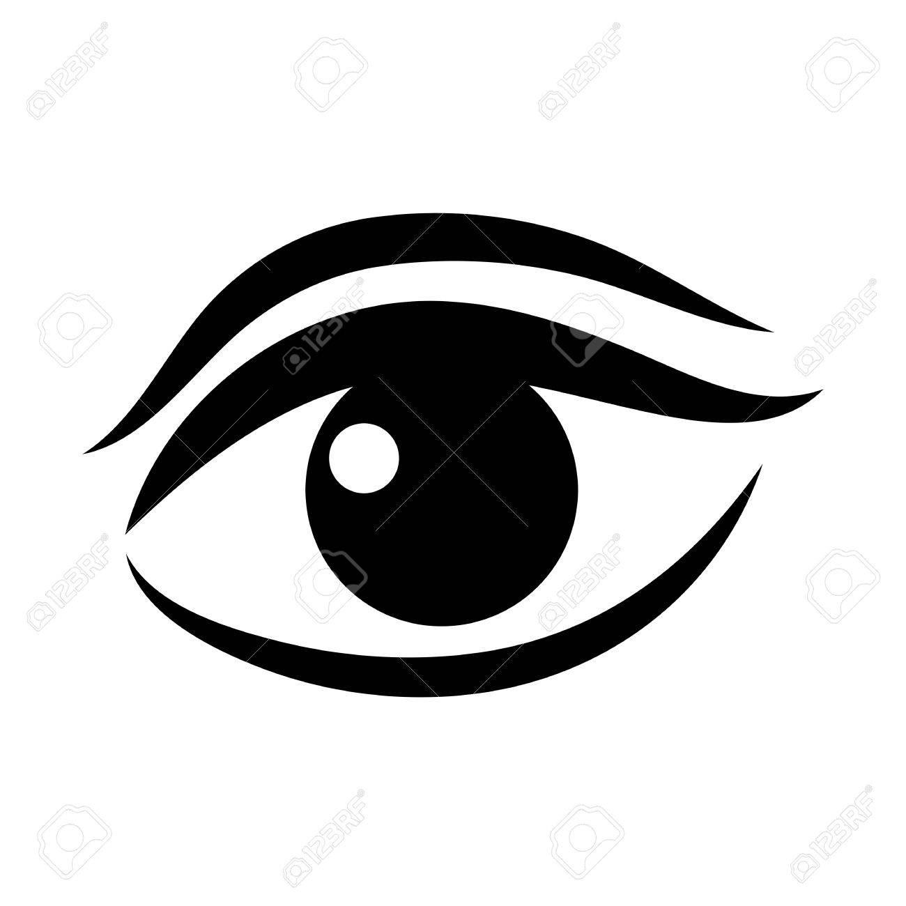 women eye vector icon royalty free cliparts vectors and stock rh 123rf com eye vector art eye vector logo