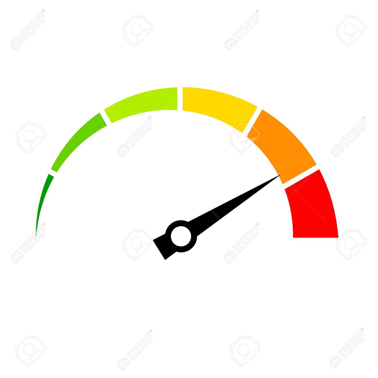 Speed meter vector icon Stock Vector - 76488444
