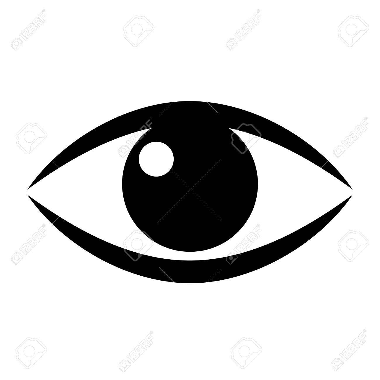 human eye vector icon royalty free cliparts vectors and stock rh 123rf com eye vector free eye vector free download