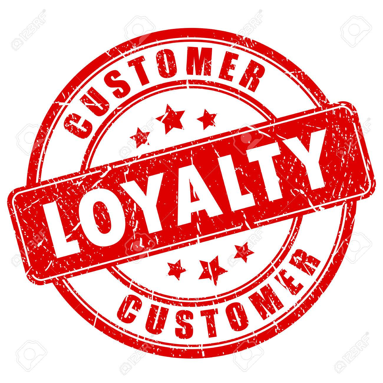Customer loyalty ink business stamp - 78256503