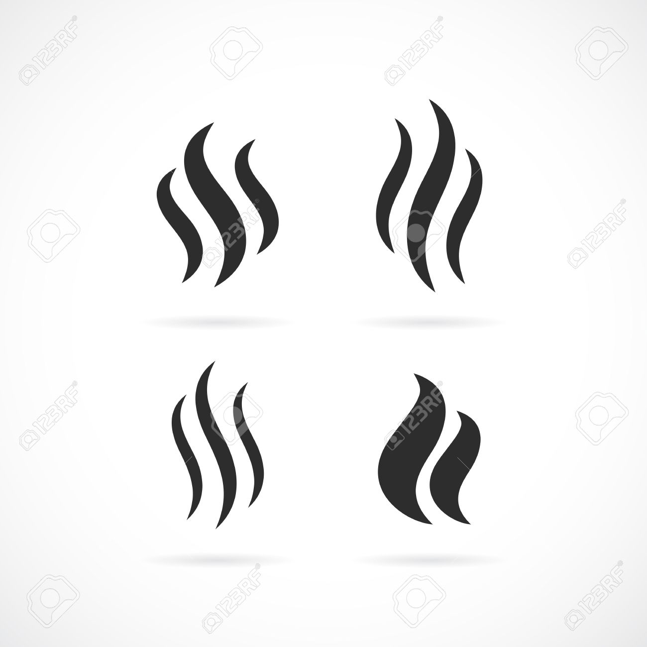 smoke vector icon royalty free cliparts vectors and stock rh 123rf com vector smoker grill vector smoke hollow grill parts