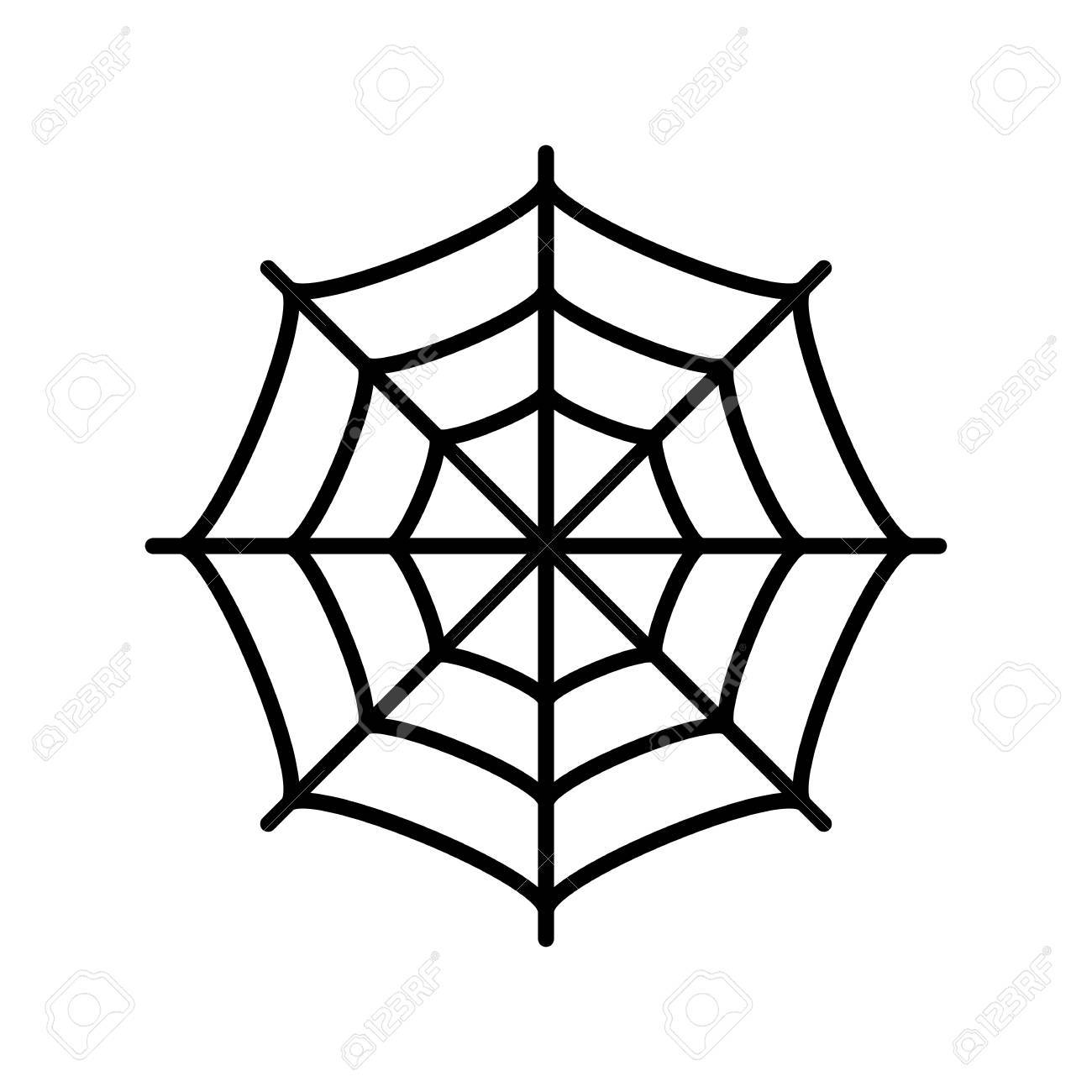 spider web vector icon royalty free cliparts vectors and stock rh 123rf com vector spider web corner free vector spider web pattern