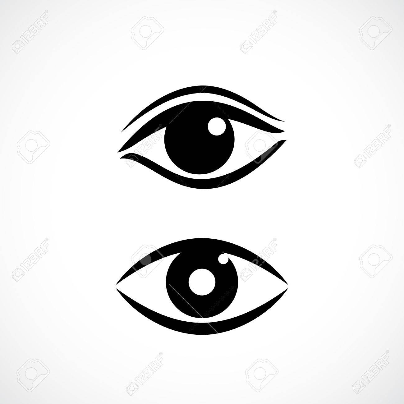 women eyes vector icon royalty free cliparts vectors and stock rh 123rf com eye vector free eye vector free download