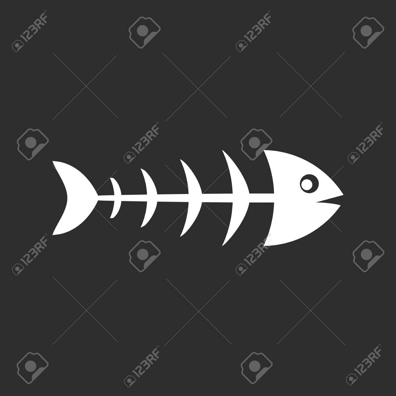 Fish skeleton. - 81478448