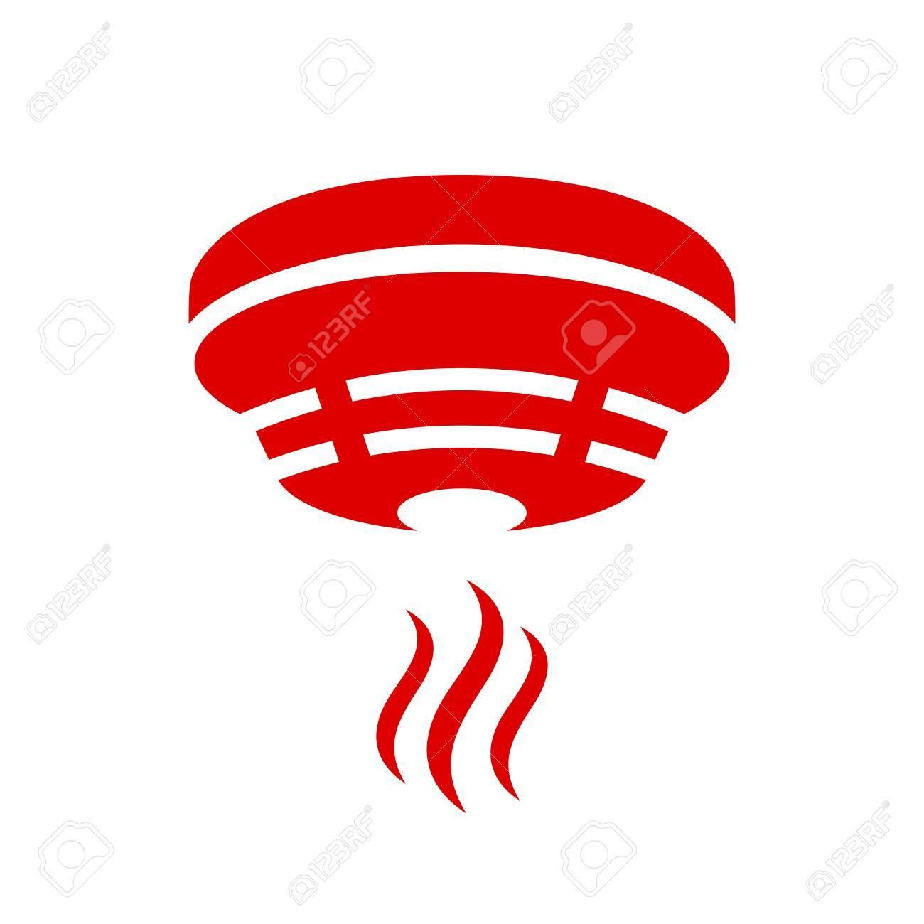Smoke detector icon - 88450067