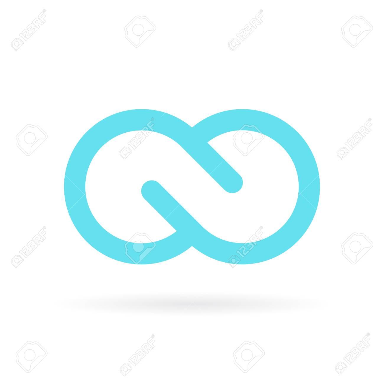 Blue Infinite Vector Symbol Royalty Free Cliparts Vectors And