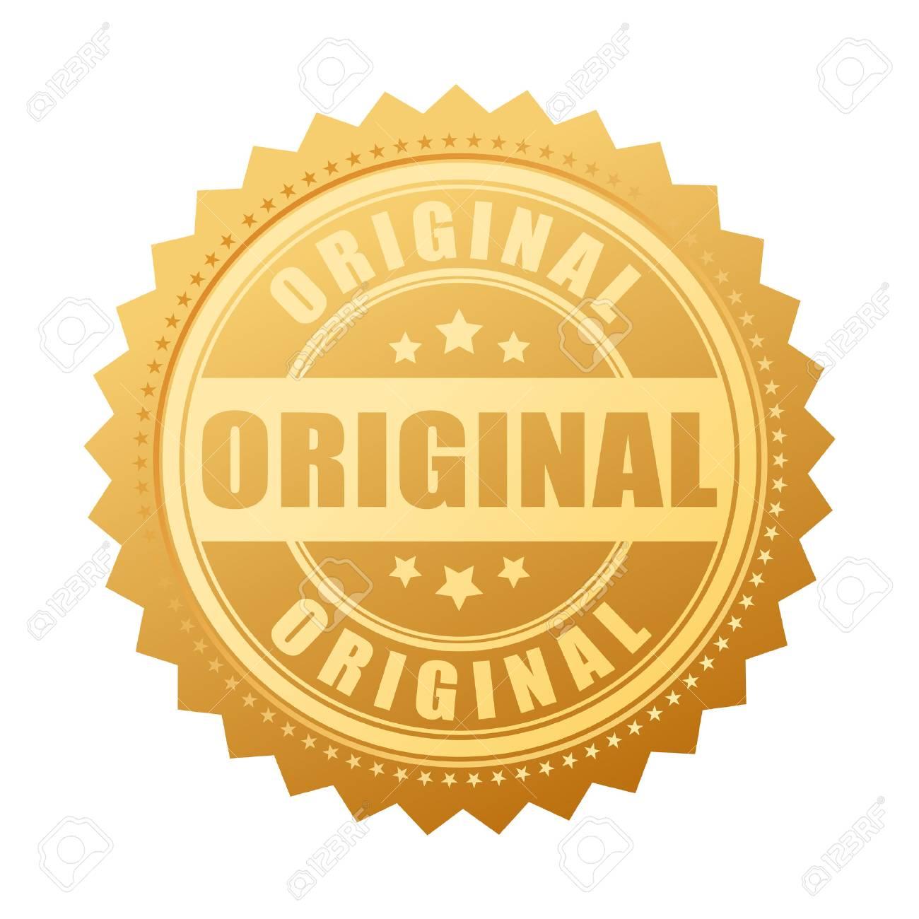 bbaaa2ba0bfa Original Gold Seal Icon Royalty Free Cliparts, Vectors, And Stock ...
