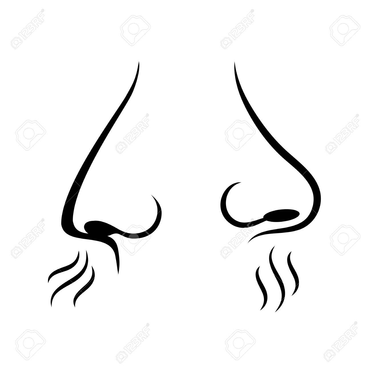 Resultado de imagen de nariz oliendo un aroma