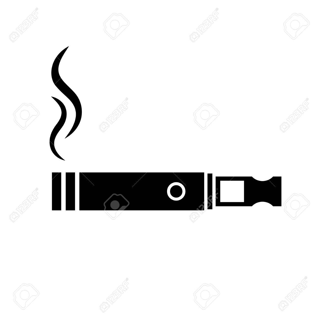 E-cigarette vector icon - 102827982