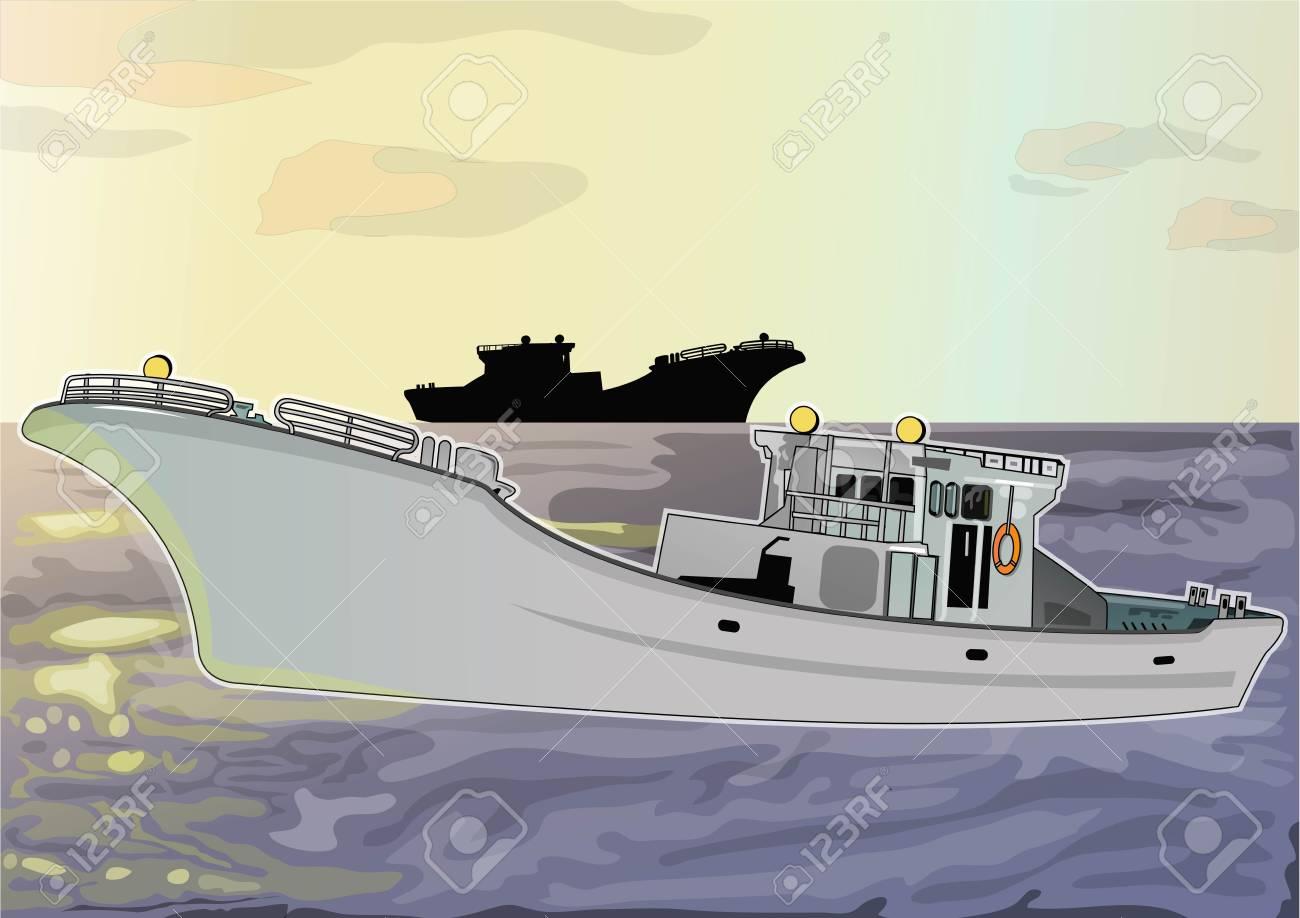 fishing boat Stock Vector - 21511772