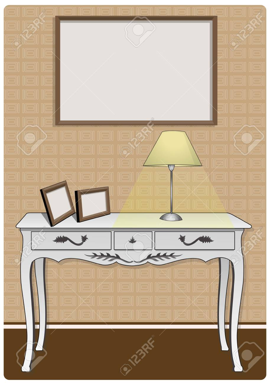 part in the home Stock Vector - 21511793