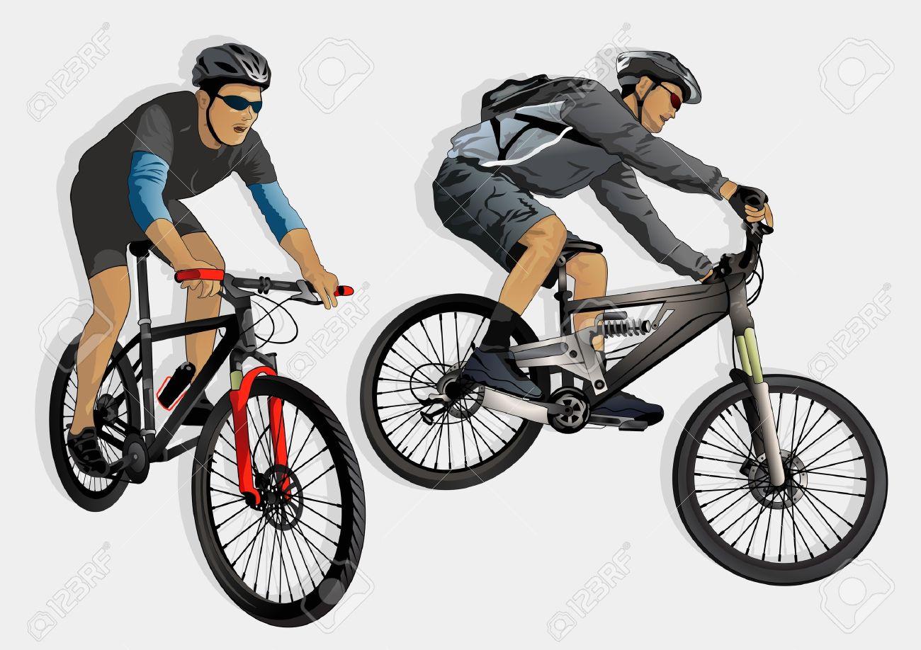 mountain bike racing - 22225582