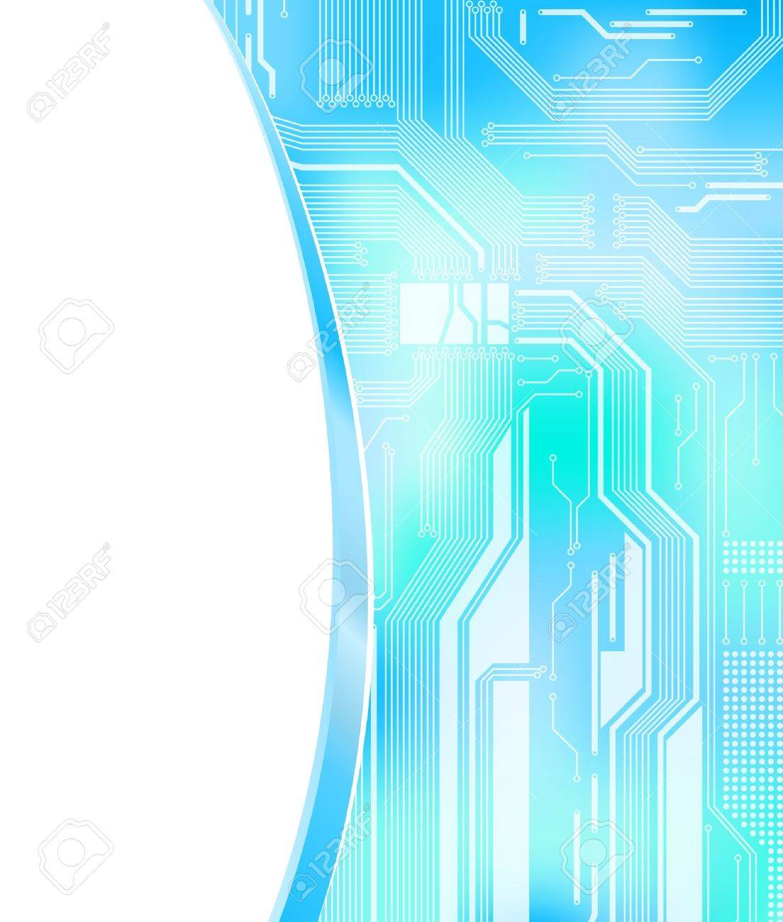 technology theme background with empty space for text. Eps10 Stock Vector - 8399515