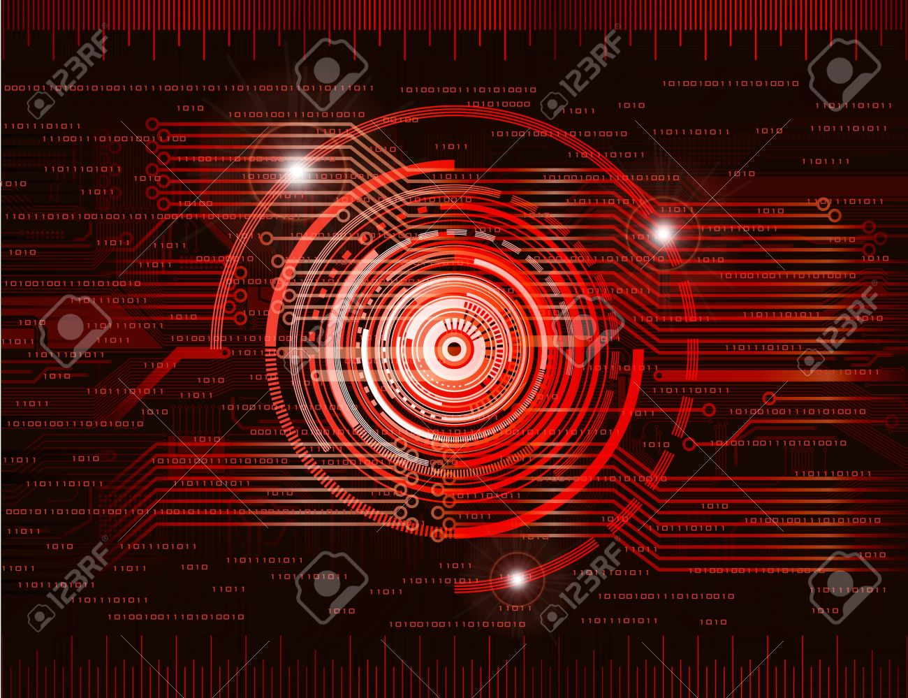 Abstract technology theme background. Eps10 Stock Vector - 8628105