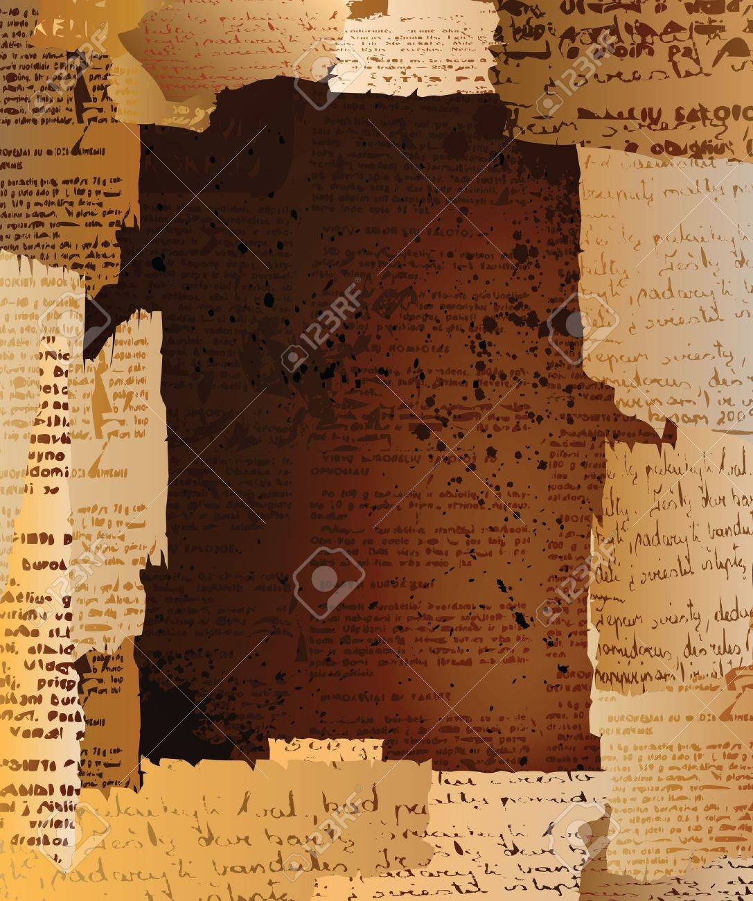 Creative design grungy background with space for text. eps10 vector Stock Vector - 9614730