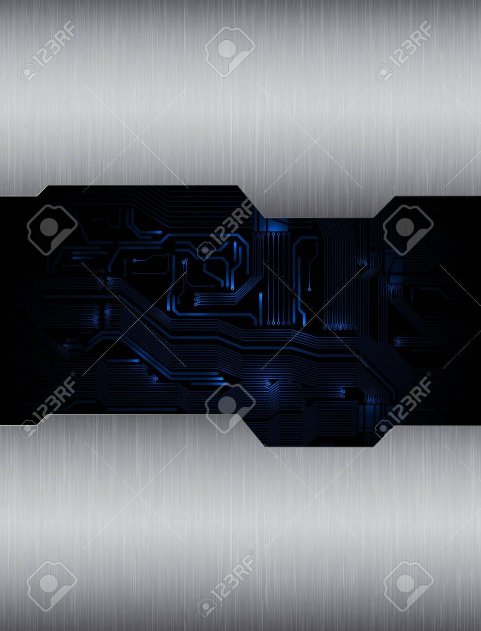 modern technology theme vector background. eps10 Stock Vector - 11017407