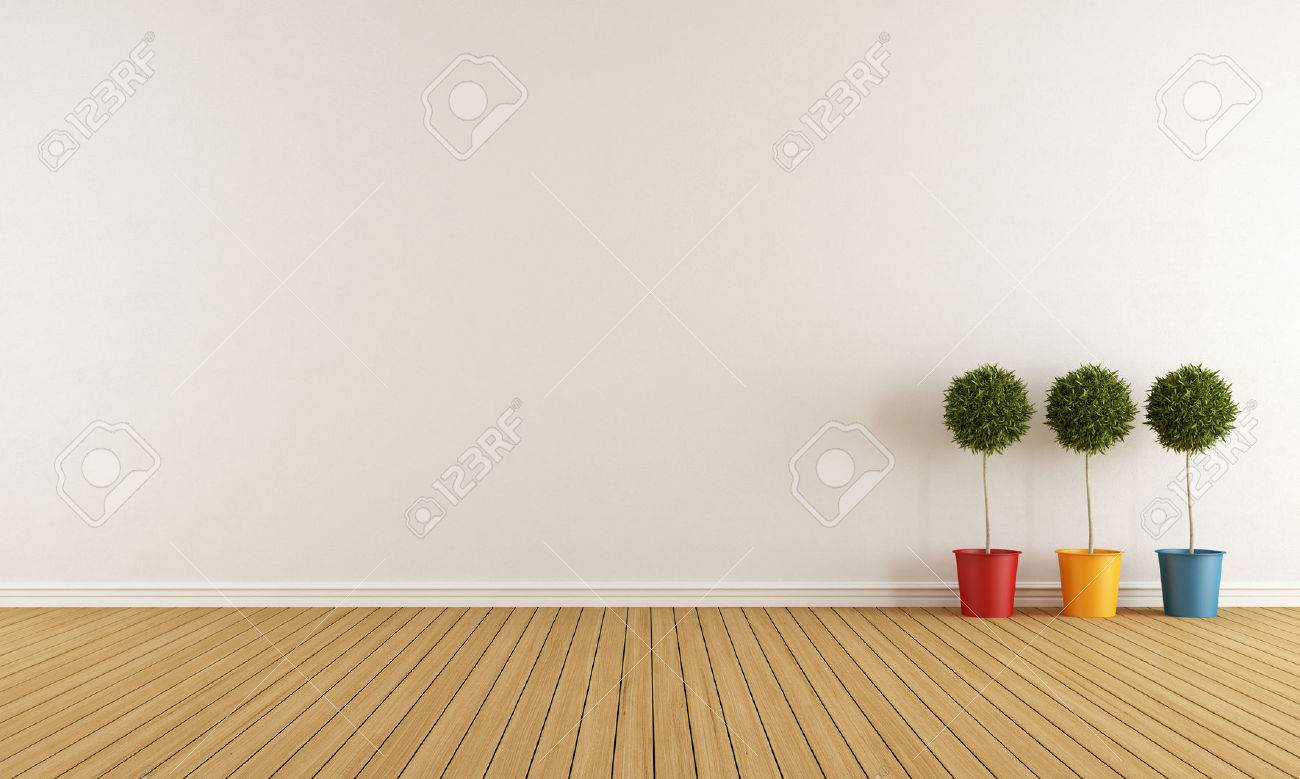 White room with three colorful vase on wooden floor stock photo white room with three colorful vase on wooden floor stock photo 32087432 reviewsmspy