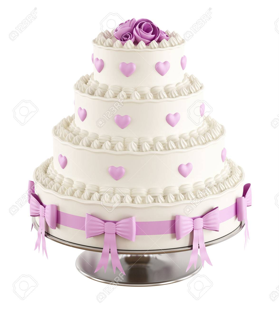 Enchanting 3d Wedding Cake Vignette - The Wedding Ideas ...