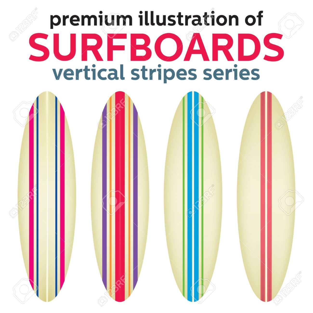 Vector Surfboard Design Royalty Free Cliparts Vectors And Stock